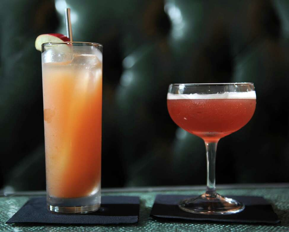 Click through the slideshow for a few winter date options in the Capital Region . In photo, the Jack Rose cocktail at The Speakeasy, located in the basement of City Beer Hall on Howard and Lodge Streets in Albany. (Lori Van Buren / Times Union)