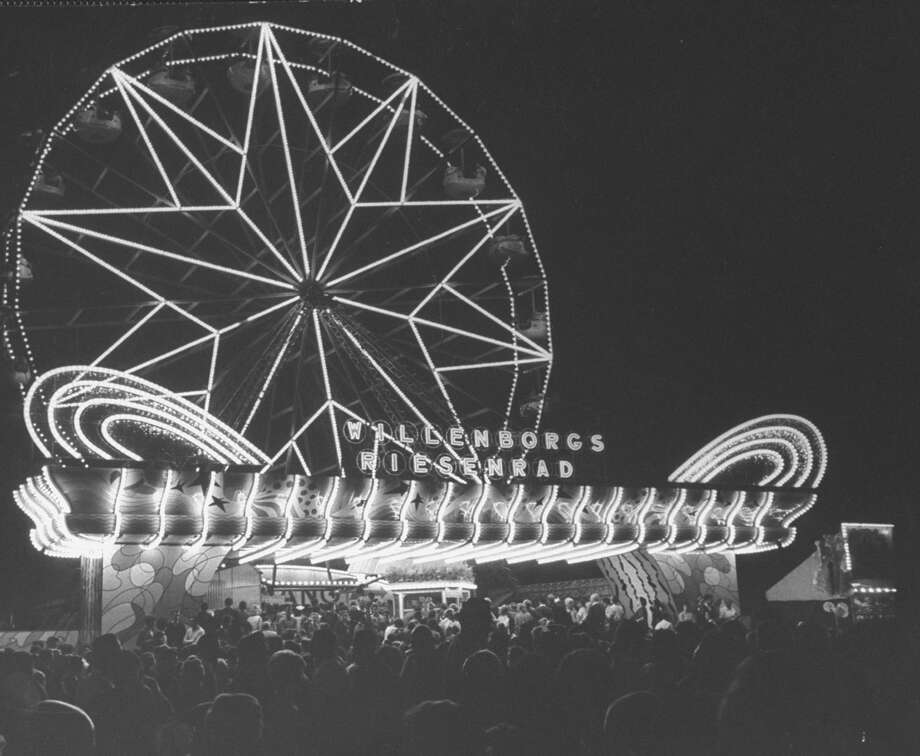 A Ferris wheel pictured at the Octoberfest.  (Photo Photo: STAN WAYMAN, Getty Images / Time & Life Pictures Creative
