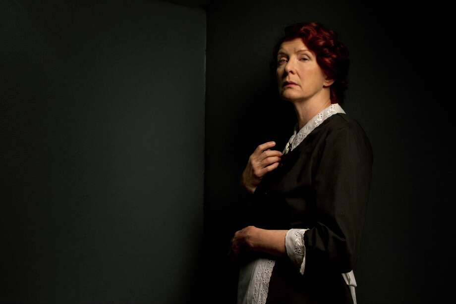 Frances Conroy as her Season 1 character, housekeeper Moira O'Hara. In Season 2 of American Horror Story, she played The Angel of Death.  Photo: FX
