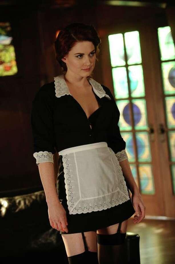 Alexandra Breckenridge as young Moira O'Hara in Season 1, American Horror Story: Murder House. Photo: FX