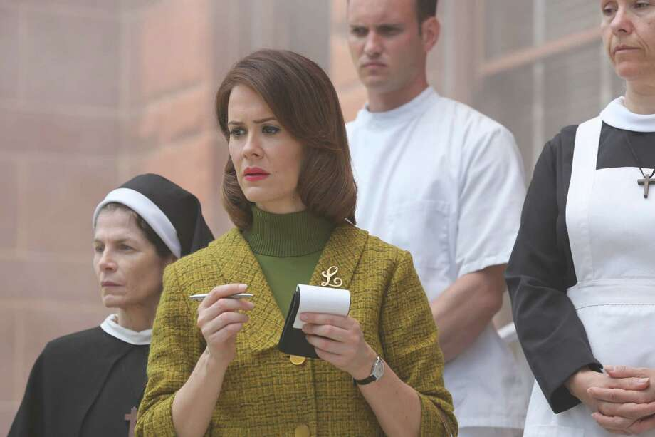 Sarah Paulson, as Lana, is up for an Emmy for American Horror Story: Asylum.  Photo: FX