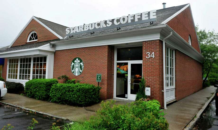 Starbucks on Church Hill Road in Newtown, Conn. Photo: Michael Duffy / The News-Times