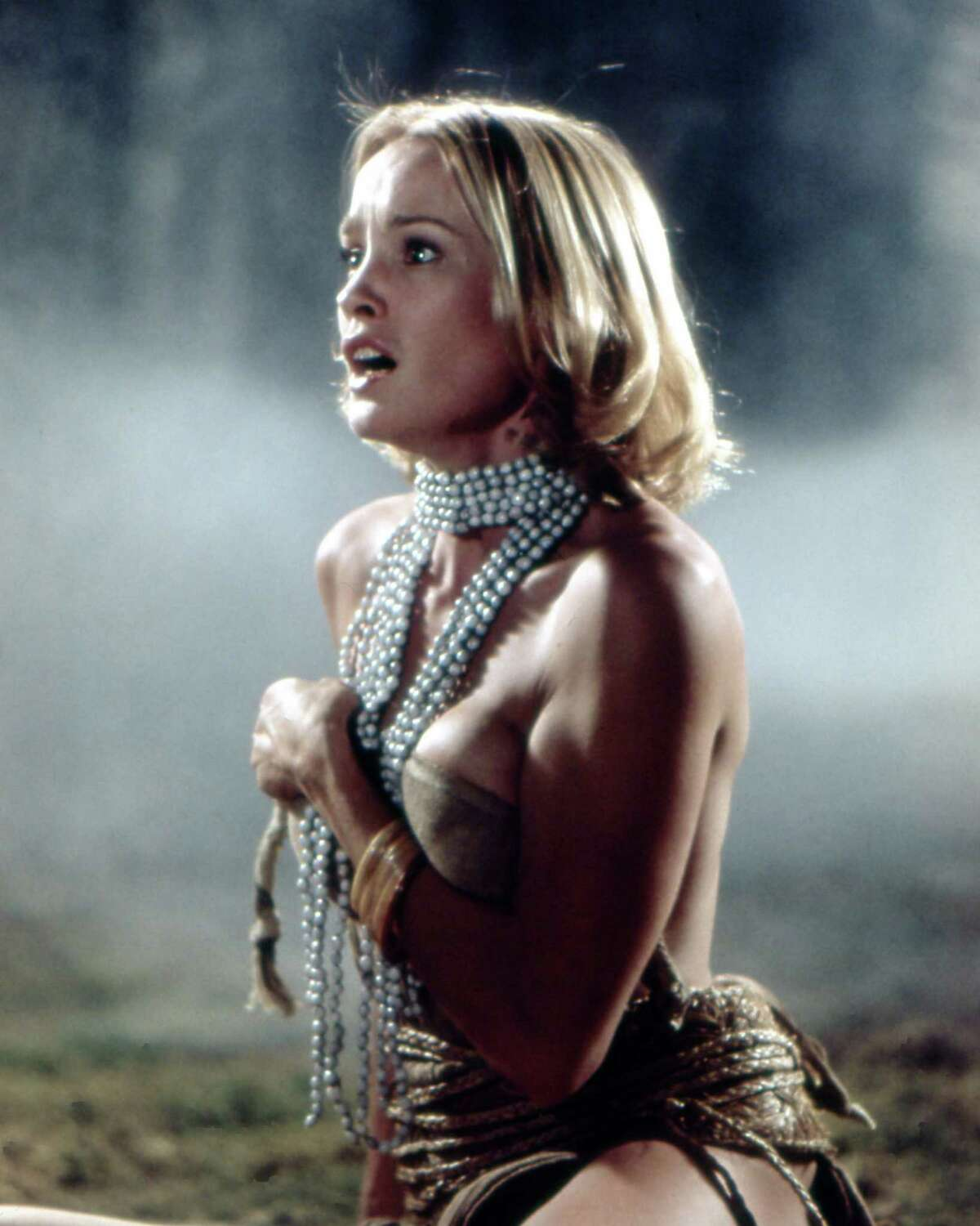 Jessica Lange made her professional film debut in the 1976 remake of King Kong, pictured.
