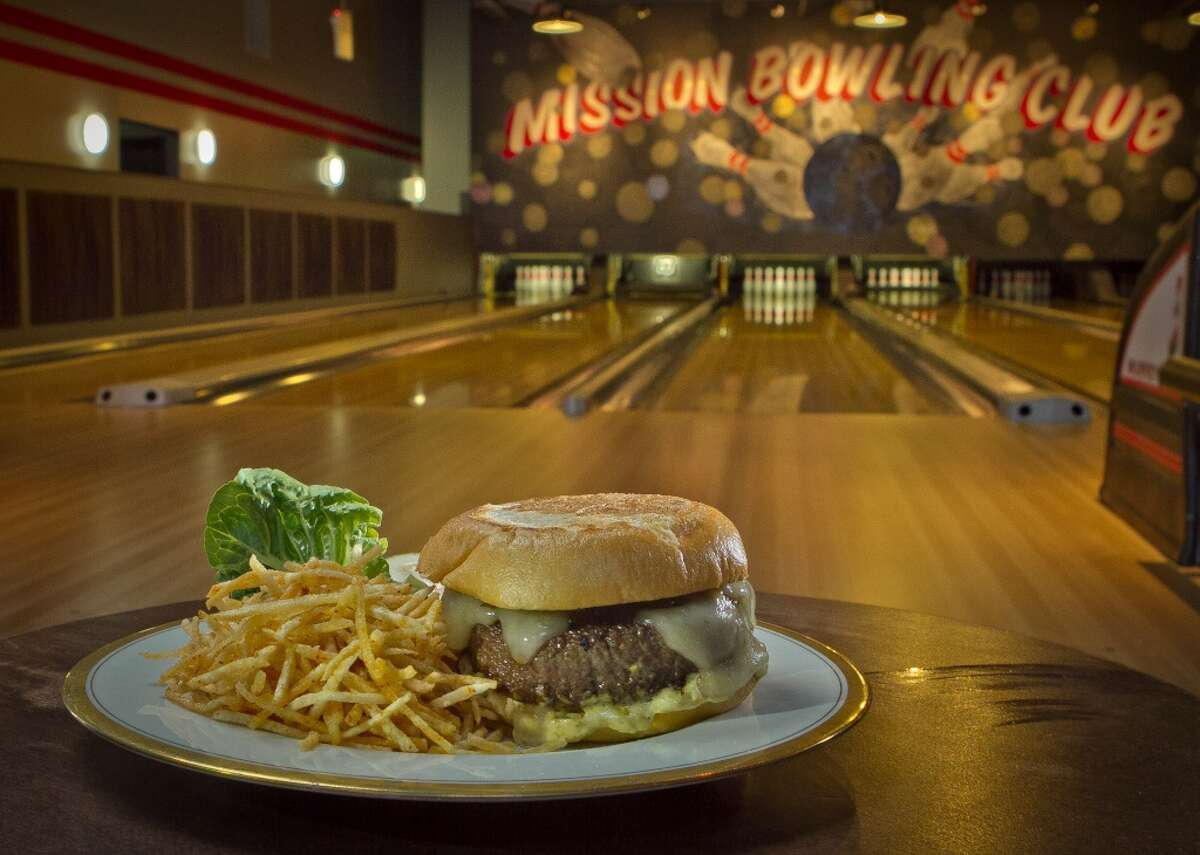 Get sporty indoors at Mission Bowling Club If you're still in the mood for competition, try bowling at Mission Bowling Club. The upscale spot also features food and cocktails that are a bit fancier the usual bowling alley victuals.