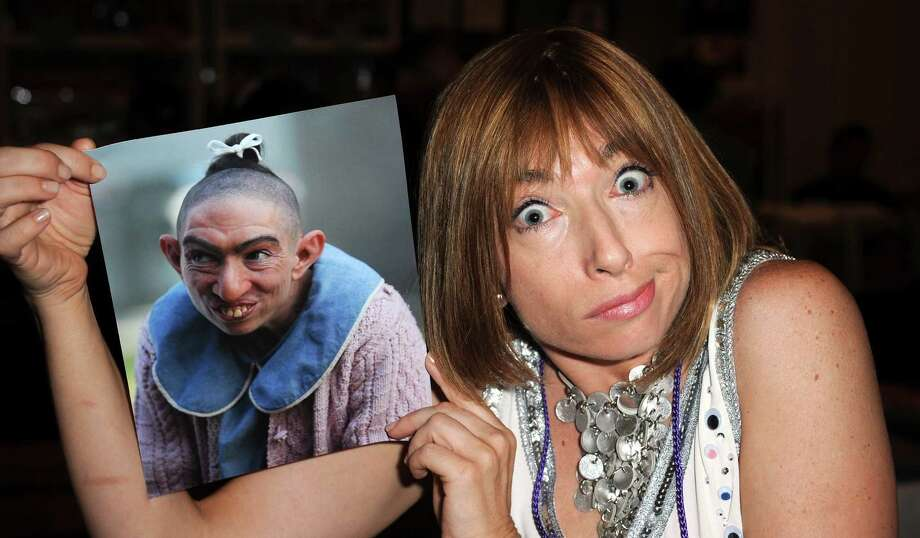 Naomi Grossman has become a fan favorite on American Horror Story for her freakish, murderous character, Pepper, a role that required her to shave her head.  Photo: Albert L. Ortega, Getty Images / 2013 Albert L. Ortega