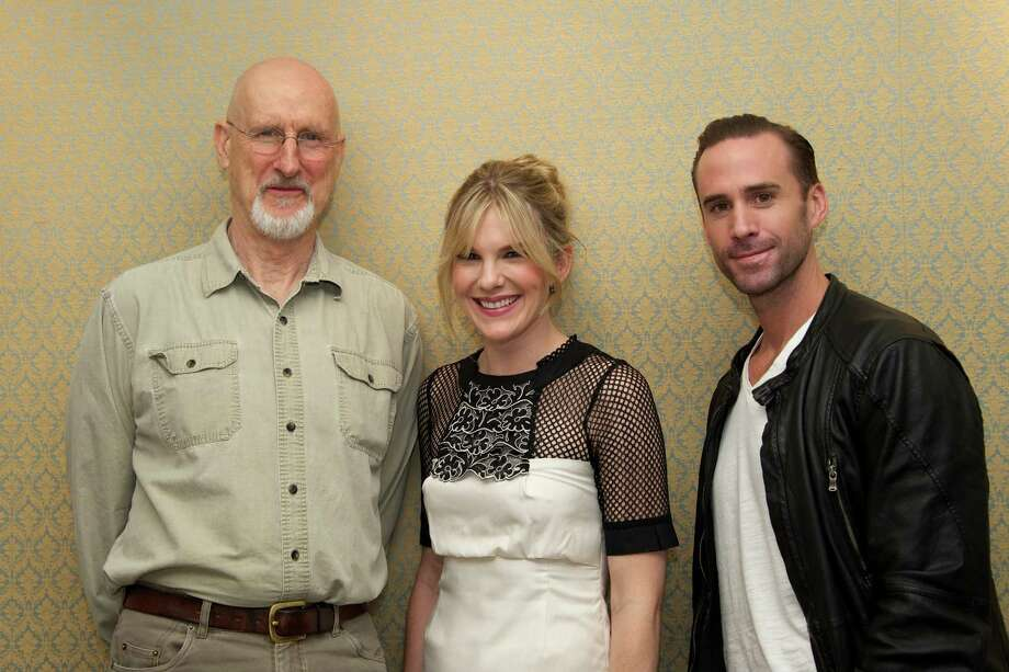 American Horror Story stars (L to R) James Cromwell, Lily Rabe and Joseph Fiennes, 2012.  Photo: Vera Anderson, Getty Images / 2012 Vera Anderson