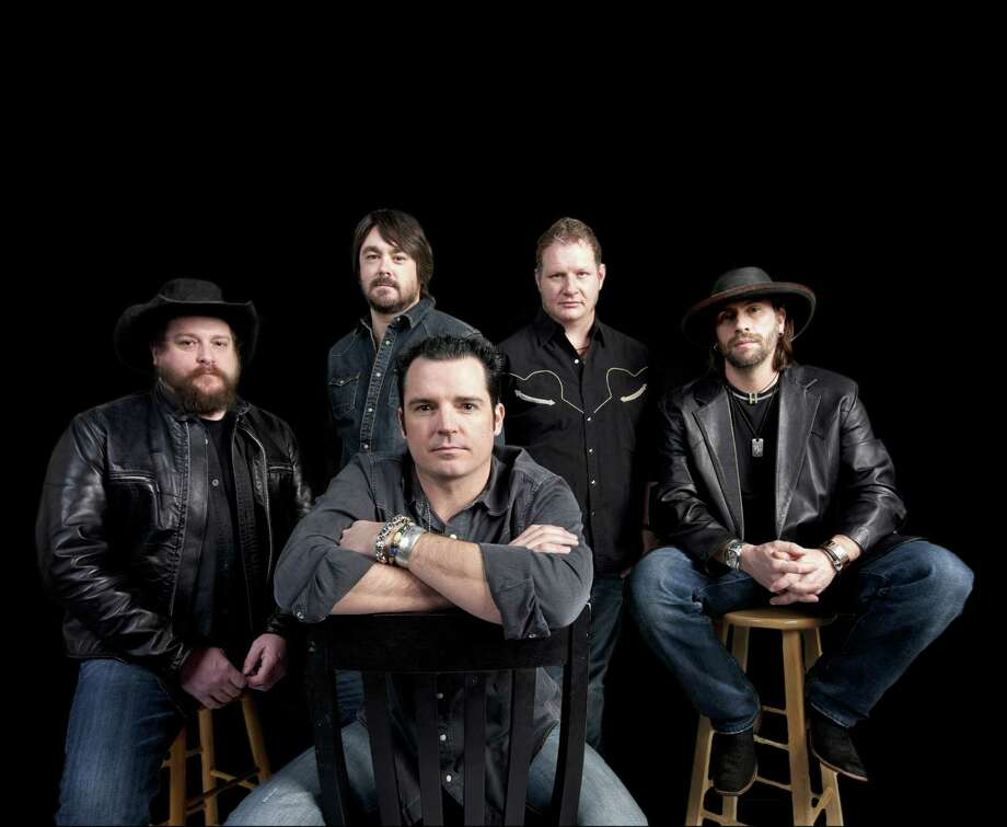 Reckless Kelly (from left in back: Cody Braun, David Abeyta, Joe Miller and Jay Nazz; front: Willy Braun) will play on back-to-back nights at Gruene Hall this weekend.