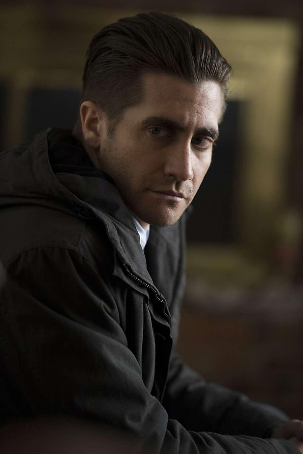 """Detective Loki-JAKE GYLLENHAAL in, """"Prisoners."""""""