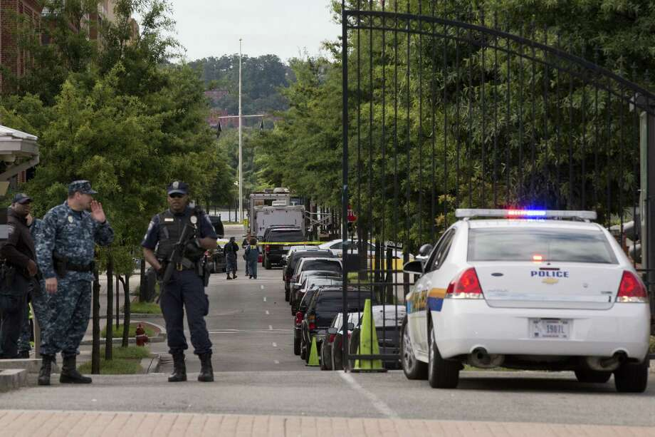 As soon as the gunfire had subsided in the Navy Yard in Washington, D.C., social media  were in a frenzy.  It seems like a tragic loop of killings, alarm, then the status quo — again. Photo: Jacquelyn Martin / Associated Press
