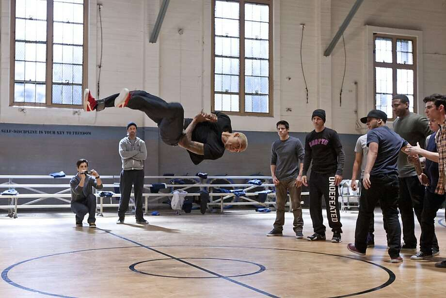 "Coach Derrek (Josh Holloway, in gray sweatshirt) tries to assemble a winning break-dance team for an international competition in ""Battle of the Year."" Photo: Matt Kennedy, Screen Gems"