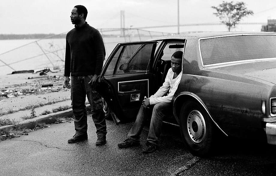 "Isaiah Washington, left, and Tequan Richmond in, ""Blue Caprice."" Photo: IFC Films"