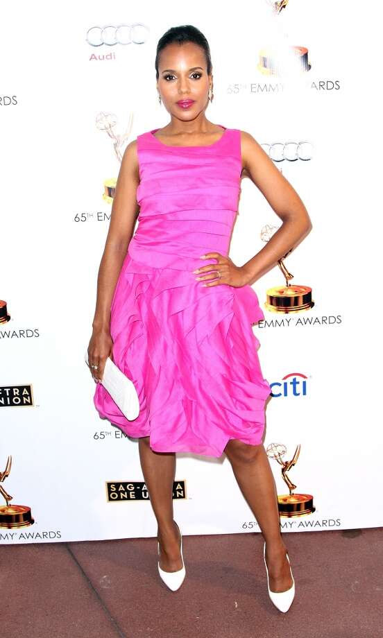 Actress Kerry Washington has been People magazine's best-dressed woman. Photo: Maury Phillips, WireImage