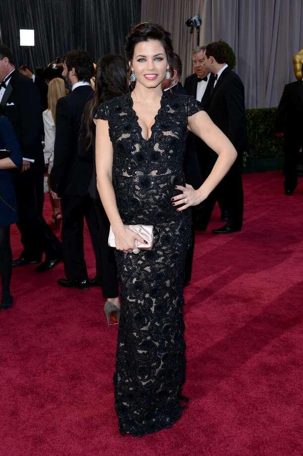 Best Pregnancy Style:  Jenna Dewan. Photo: Michael Buckner, Getty Images