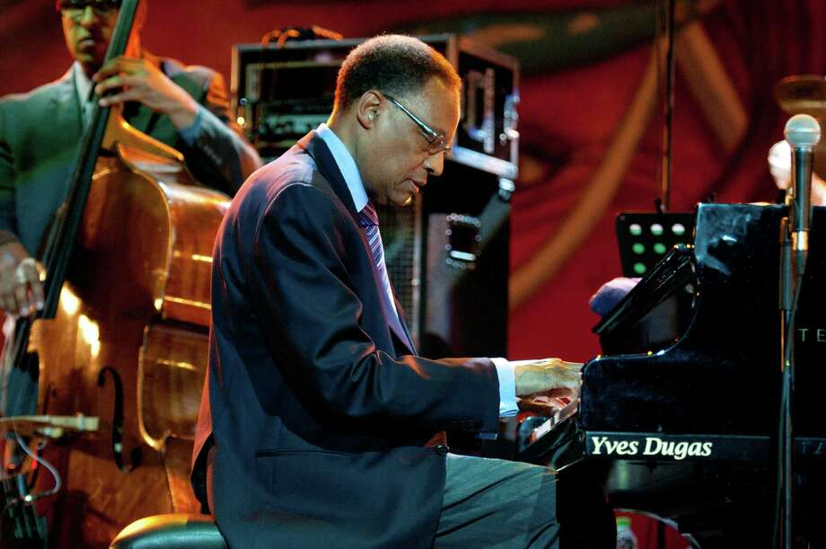 Jazz pianist and composer Ramsey Lewis will perform on the Jazz'SAlive Bud Light main stage on Sunday night. Photo: David Redfern / Getty Images