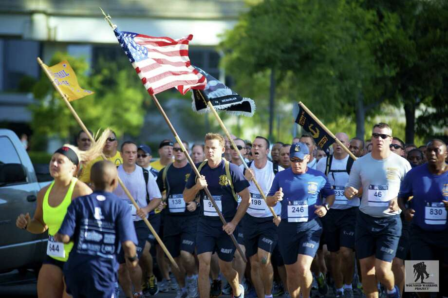 The Wounded Warrior Project 8K run on Saturday is one of three scheduled nationwide. Photo: Courtesy Photo