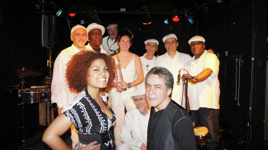 Ayer y Hoy: New Haven Latin band Mikata performs at Acoustic Cafe in Bridgeport on Friday, Sept. 27. Photo: Contributed Photo