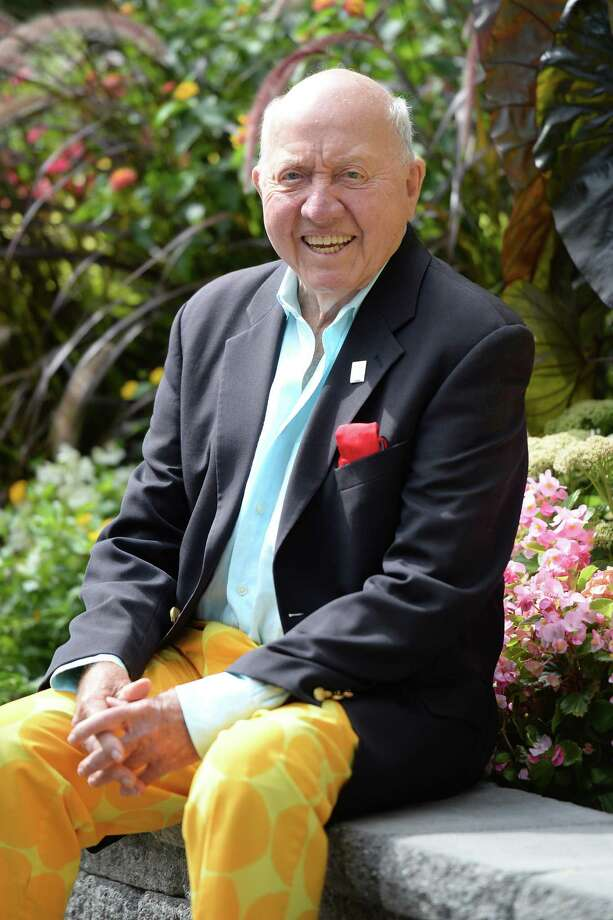 Bud Collins attends the 2013 US Open at USTA Billie Jean King National Tennis Center on September 9, 2013 in New York City. Photo: Uri Schanker, Contributor / 2013 Uri Schanker