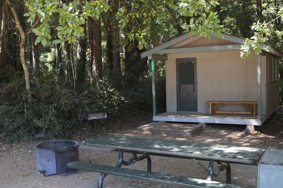 One of the rental cabins in Little Basin, the overlooked offshoot of Big Basin Photo: Tom Stienstra/The Chronicle