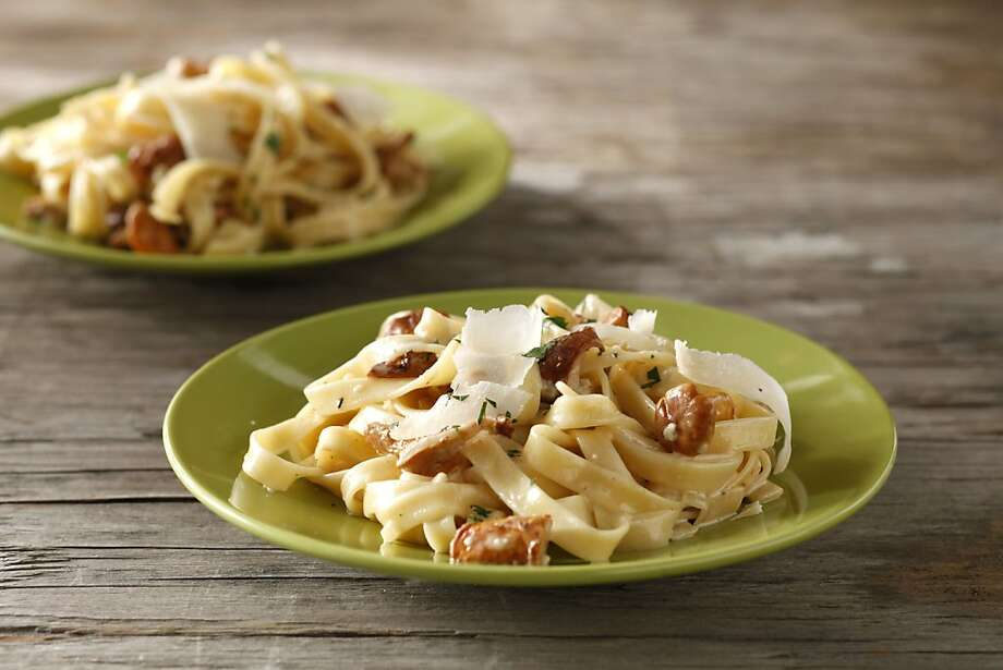 Fettuccine With Chanterelles Photo: Craig Lee, Special To The Chronicle
