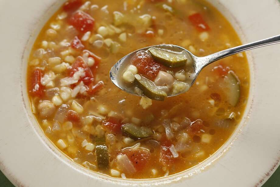 Early Fall Minestrone Photo: Craig Lee, Special To The Chronicle
