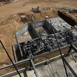 Workers build a new, 100,000-square-foot Akanksha Infertility Clinic facility in Anand, India, Wednesday, May 29, 2013. This massive headquarters will be a one-stop location, with lodging for clients and surrogates atop spacious delivery rooms and offices.