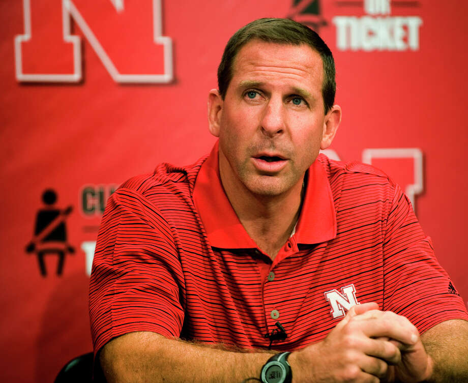 Nebraska head football coach Bo Pelini addresses the media during a news conference at Memorial Stadium, Monday, Aug. 27, 2012, in Lincoln, Neb. (AP Photo/Lincoln Journal Star, Adam Wolffbrandt) LOCAL TV OUT; KOLN-TV OUT; KGIN-TV OUT; KLKN-TV OUT Photo: Adam Wolffbrandt, MBI / Lincoln Journal Star