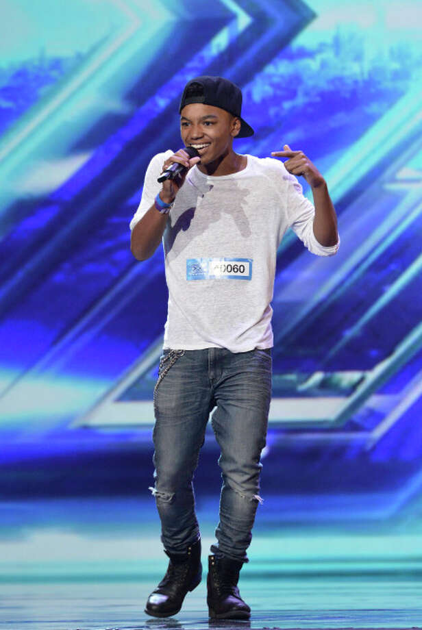 THE X FACTOR: Contestant Josh Levi pefrorms in front of the Judges on THE X FACTOR airing Wednesday, Sep. 18 (8:00-10:00 PM ET/PT) on FOX. CR: Ray Mickshaw/ FOX. © Copyright 2013 / FOX.