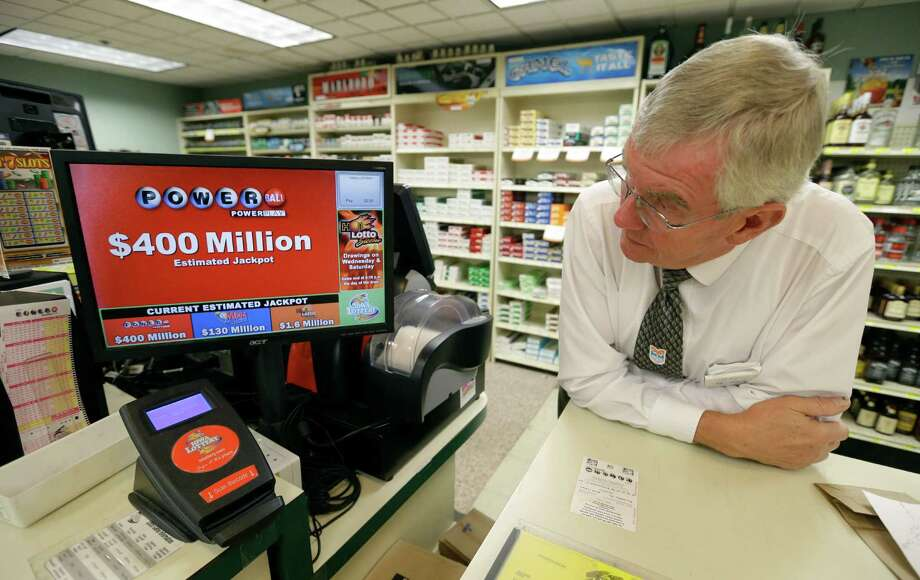 See how tonight's $400 million jackpot compares to the Top Ten Biggest Lottery Jackpots ever.Above: Dahl's grocery store manager Don Mark looks at a monitor displaying the estimated jackpot amount for Wednesday's Powerball drawing, Tuesday, Sept. 17, 2013, in Des Moines, Iowa. The giant Powerball jackpots keep coming, with the latest $400 million prize ranking among the largest ever. But soon, lottery players could see even more huge jackpots as organizers of the Mega Millions lottery move ahead with plans to revamp the game and attract more players. (AP Photo/Charlie Neibergall) Photo: Charlie Neibergall, Associated Press / AP