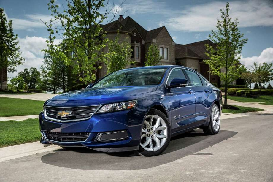 This undated photo made available by General Motors shows the 2014 Chevrolet Impala 2.5L iVLC. Photo: GM