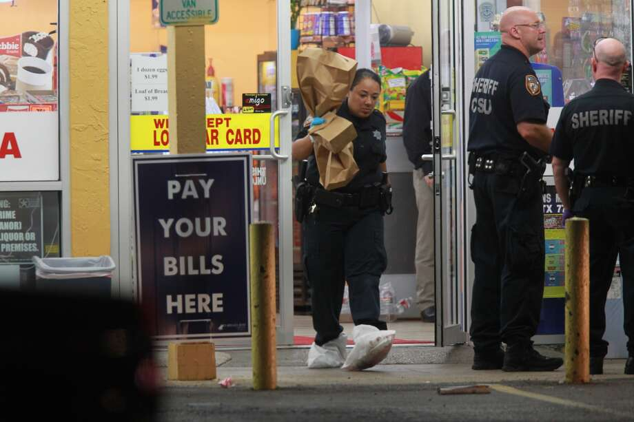 A clerk was found dead about 4:15 a.m. Thursday at the Blue Bell Corner Store at 9700 Veteran's Memorial near West Road, according to the Harris County Sheriff's Office.
