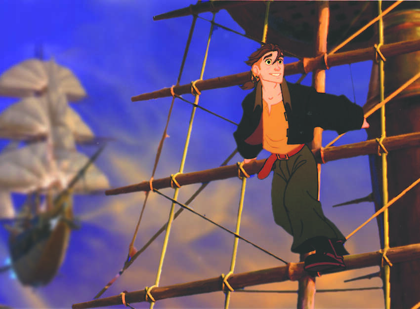 Jim Hawkins shows the makings of a fine spacer when John Silver, a cyborg with a hidden agenda, takes him under his wing in