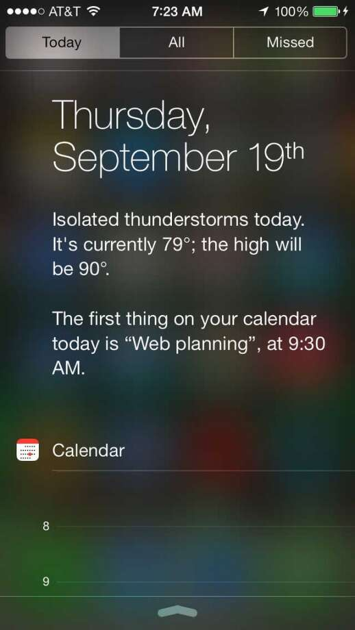 I never used the old Notification Center much in iOS 6, but this version is much more useful. I'm a weather junkie, and I particularly like the narrative weather forecast at the top of the page. Hey Eric Berger, check it out!