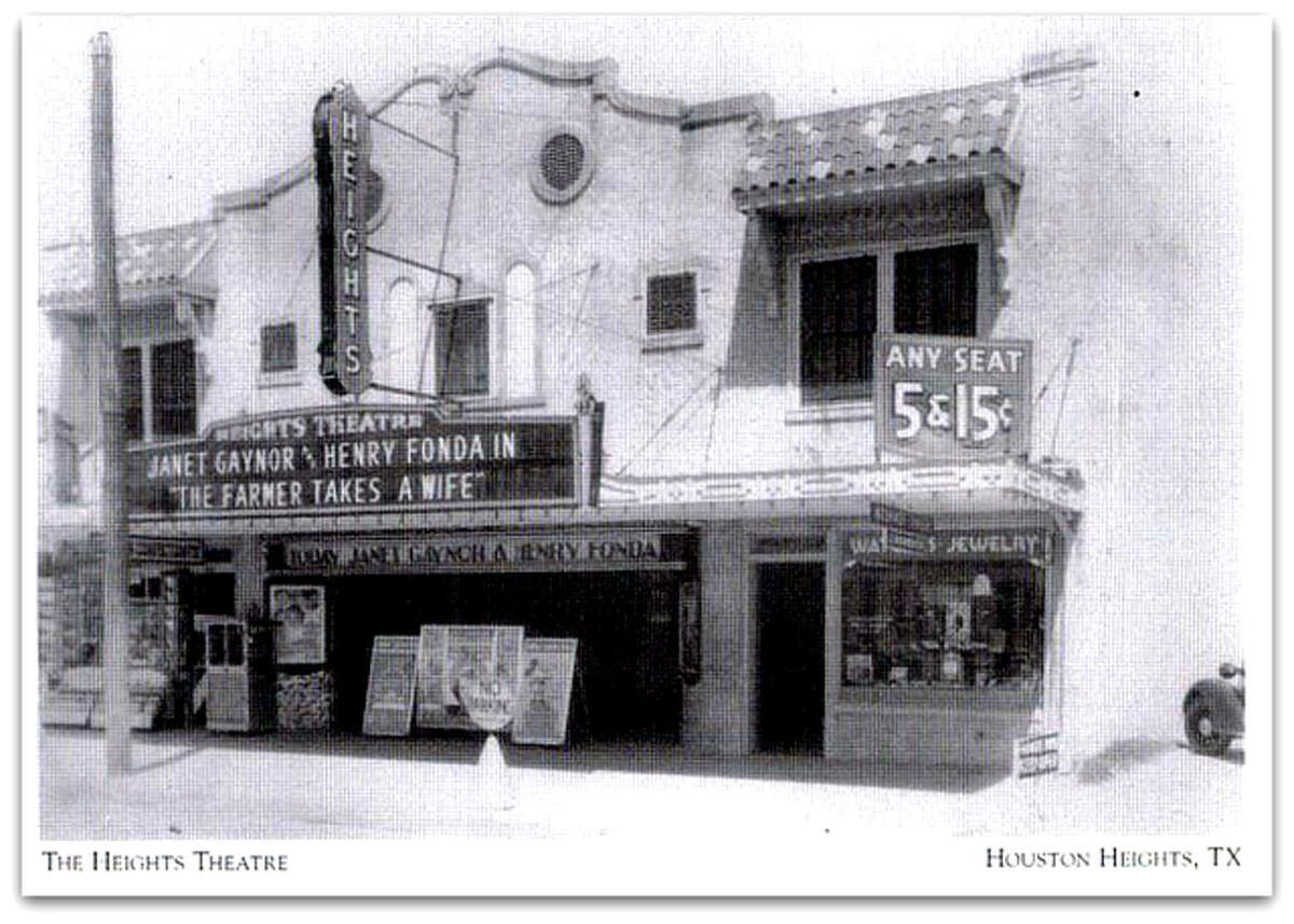 The Heights Theater on 19th Street is pictured in this photo.