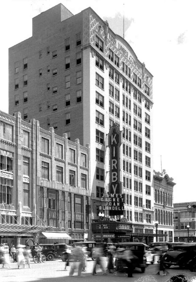 The Kirby Theatre at 911 Main St. opened in August 1927. It closed in 1970 and was demolished.