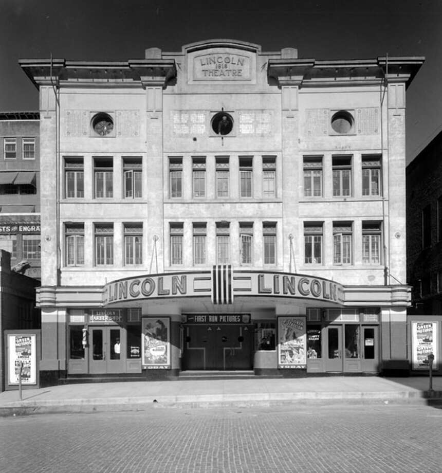 The Lincoln Theatre at 711 Prairie St. opened in 1916.