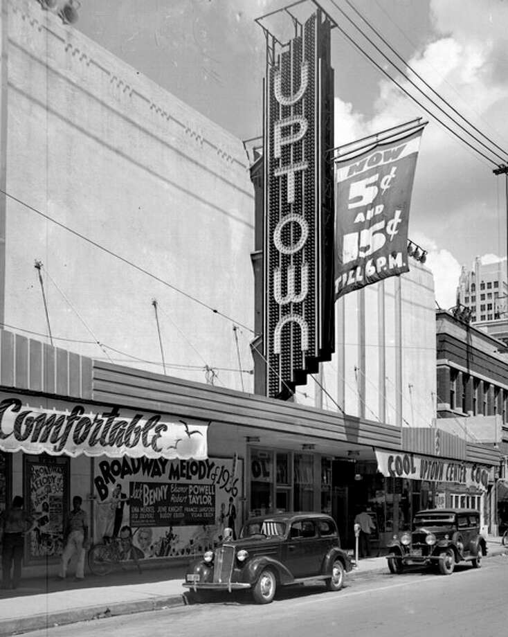 The Rivoli Theater at 811 Capitol St. opened in 1935.