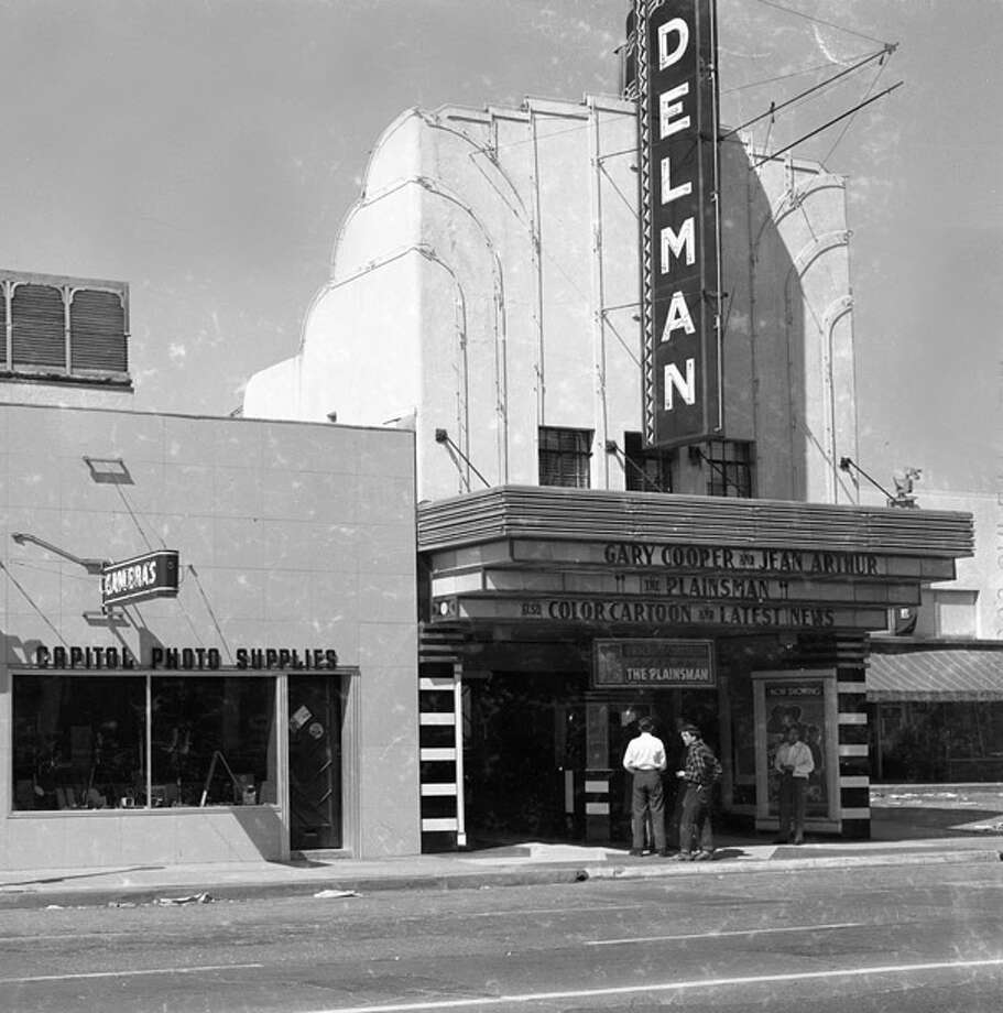 The Delman Theater 4412 S. Main St. opened in 1934 and was bought out by Loew's in 1969.