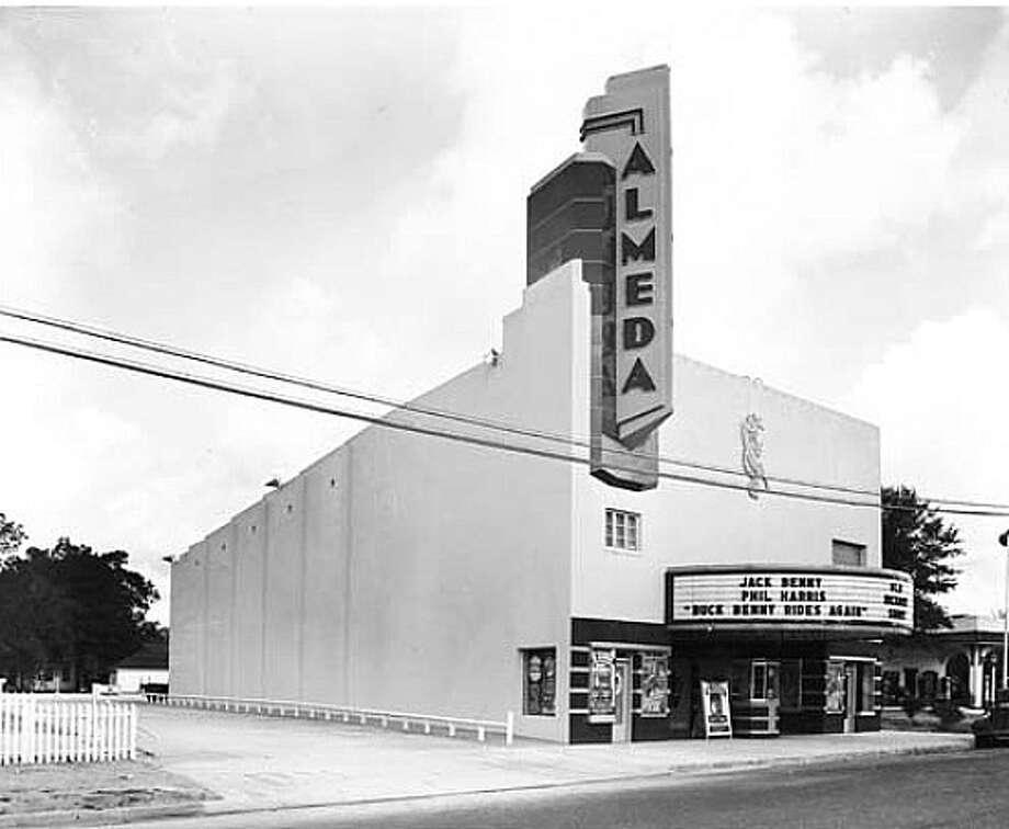 The Almeda Theatre opened 1949 at 318 W. Houston St. Photo: Picasa