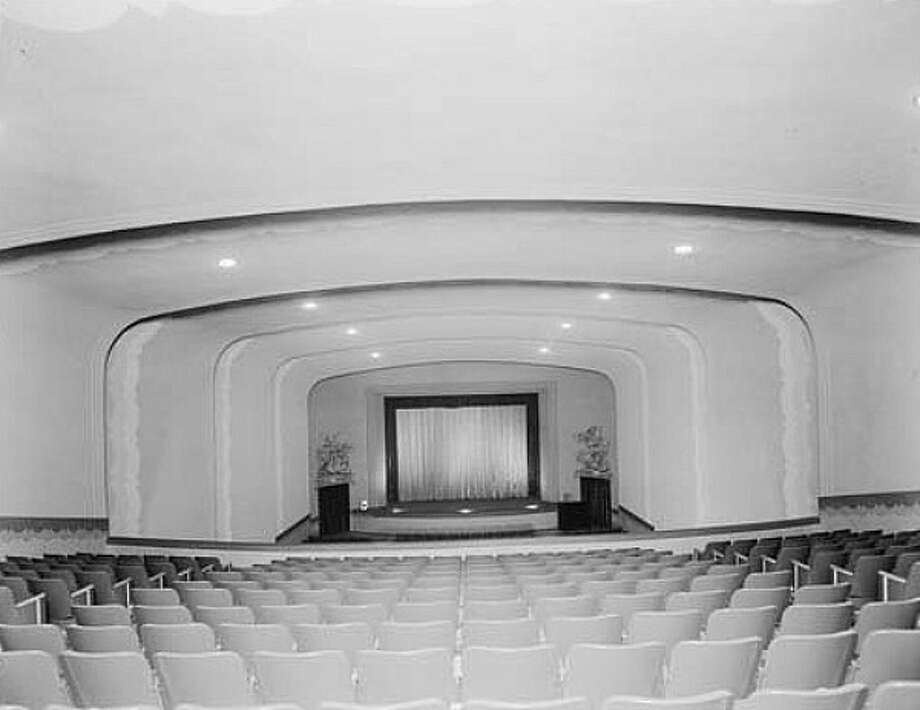This photo shows the inside the Almeda Theatre Auditorium. Photo: Picasa