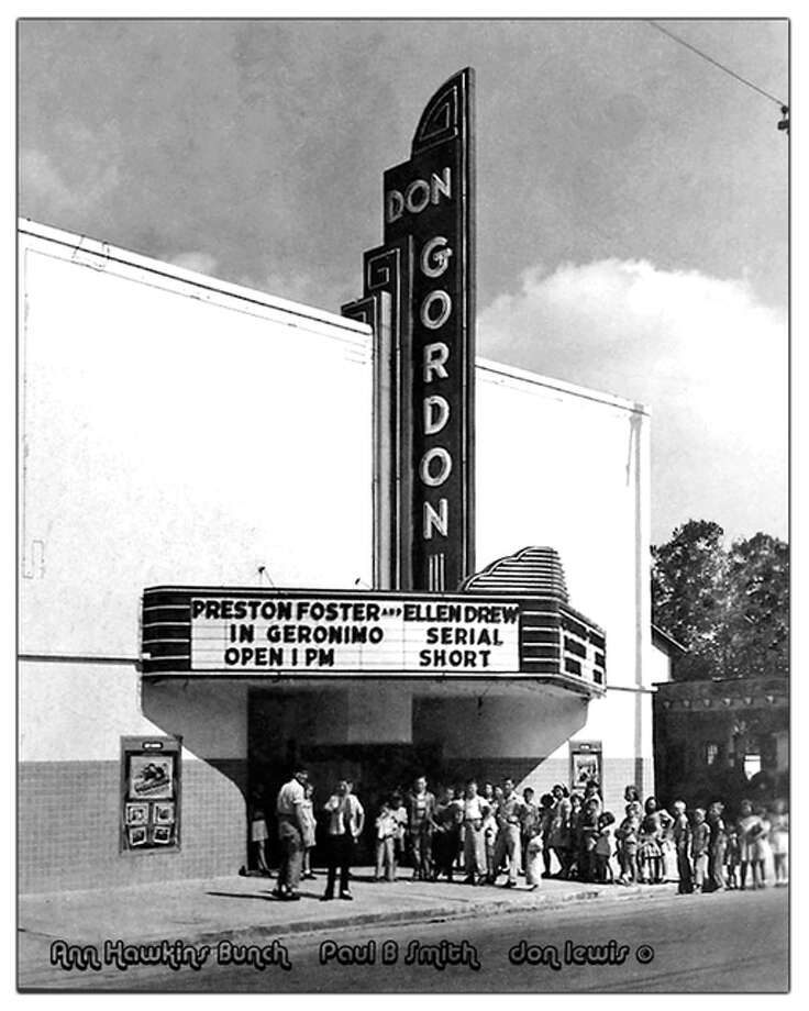 The Don Gordon Theatre at 4719 Canal St. is pictured in the 1940s.