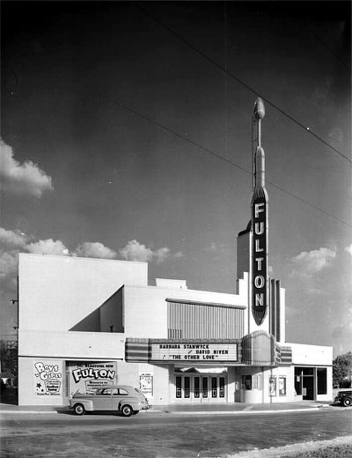 The Fulton Theater at 3310 Fulton St is shown in this photo.