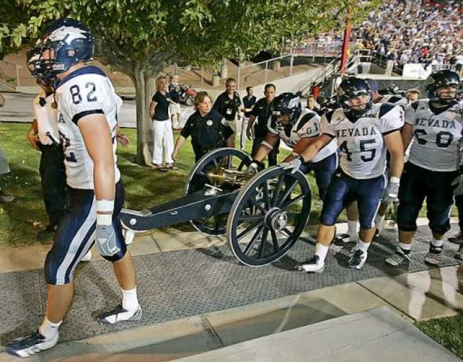 Fremont Cannon Teams: Nevada Wolf Pack vs. UNLV Rebels Introduced: 1970