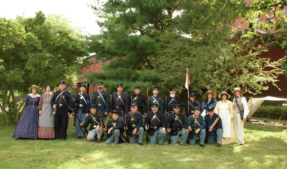 Members of the 14th Connecticut Volunteer Infantry, Company F, will be at Weston (Conn.) Historical Society, from 10 a.m. to 3 p.m., Saturday, Sept. 28, 2013, as part of a day's worth of activities. They will put on a Civil War Encampment, complete with demonstrations and reenactments. For more information, visit www.westonhistoricalsociety.org. Photo: Contributed Photo