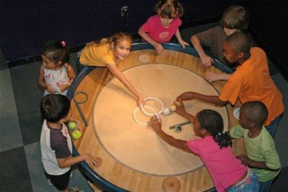 Stepping Stones Museum for Children in Norwalk, Conn., will welcome the new exhibition Secrets of Circles, Saturday, Sept. 28, 2013, when it opens for a three-month run. There will be plenty of hands-on activities for all ages. For more information, visit steppingstonesmuseum.org. Photo: Contributed Photo
