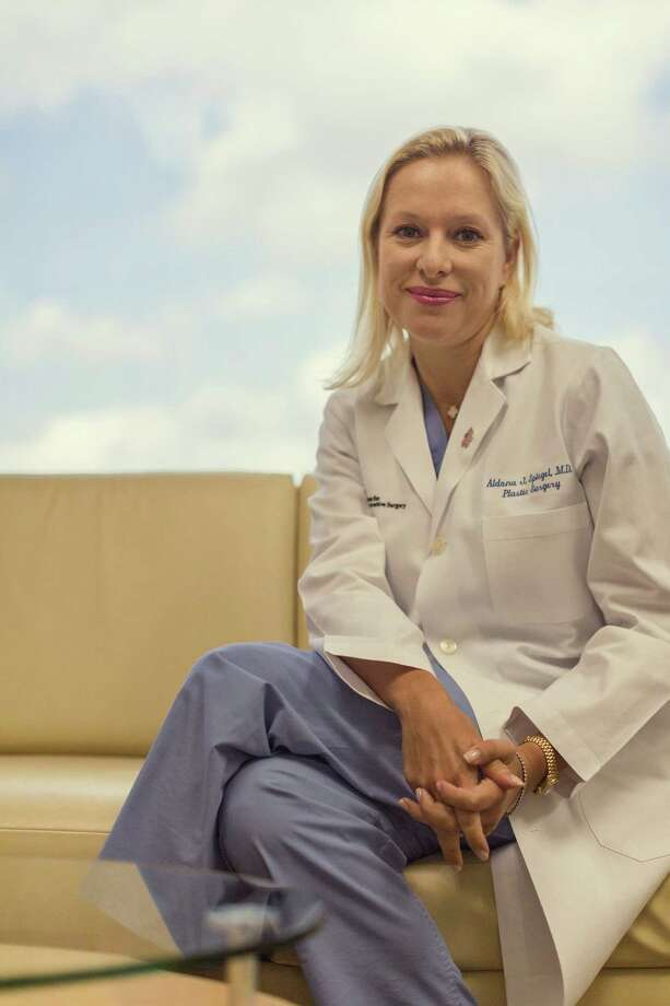 Dr. Aldona Spiegel, director of Houston Methodist Hospital's Center for Breast Restoration, says the treatment to restore sensation has had good results. She hopes her study will make more women aware of the technique. Photo: Â TODD SPOTH PHOTOGRAPHY, LLC / © TODD SPOTH PHOTOGRAPHY, LLC