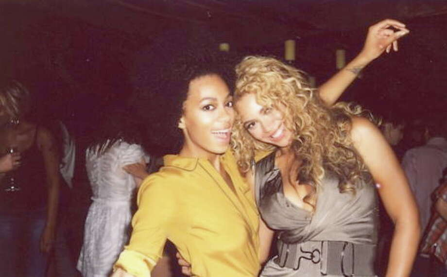 with sister Beyonce