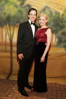 Danny and Isabel David at Houston Grand Opera's Opening Night Dinner Celebration at Wortham Theater Center in 2013. Isabel David Co-chairs the Another Great Night in November party benefitting the Contemporary Arts Museum Houston this year. Photo: Priscilla Dickson