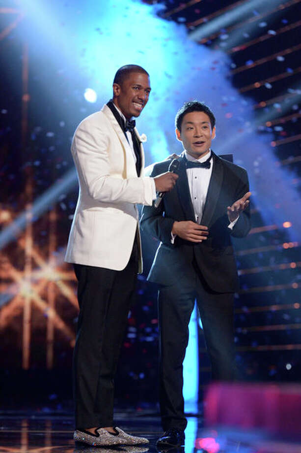 AMERICA'S GOT TALENT -- Episode 827 -- Pictured: (l-r) Nick Cannon, Kenichi Ebina -- (Photo by: Virginia Sherwood/NBC) Photo: NBC, Virginia Sherwood/NBC / 2013 NBCUniversal Media, LLC.