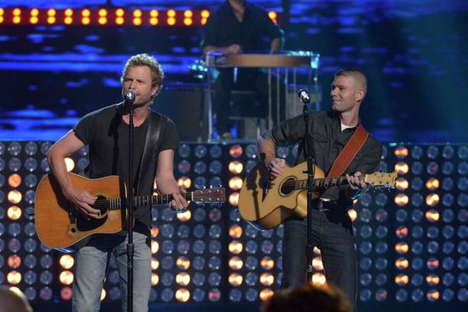 AMERICA'S GOT TALENT -- Episode 827 -- Pictured: (l-r) Dierks Bentley, Jimmy Rose -- (Photo by: Virginia Sherwood/NBC) Photo: NBC, Virginia Sherwood/NBC / 2013 NBCUniversal Media, LLC.