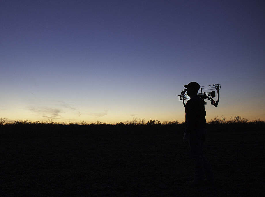 Participation in bowhunting as exploded in Texas over the past two decades. When Texas' 2013 archery-only white-tailed deer hunting season opens Saturday, Sept. 28, as many as 160,000  bowhunters  - a quarter of all Texas deer hunters - will greet the dawn of the season in which only archery gear can be used. Photo courtesy of Casey Morris Photo: Picasa / Casey Morris 2013